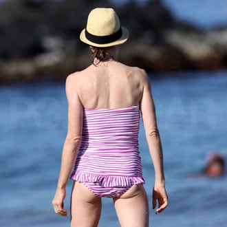 Guess Who's in a Tight Two-Piece on the Beach?