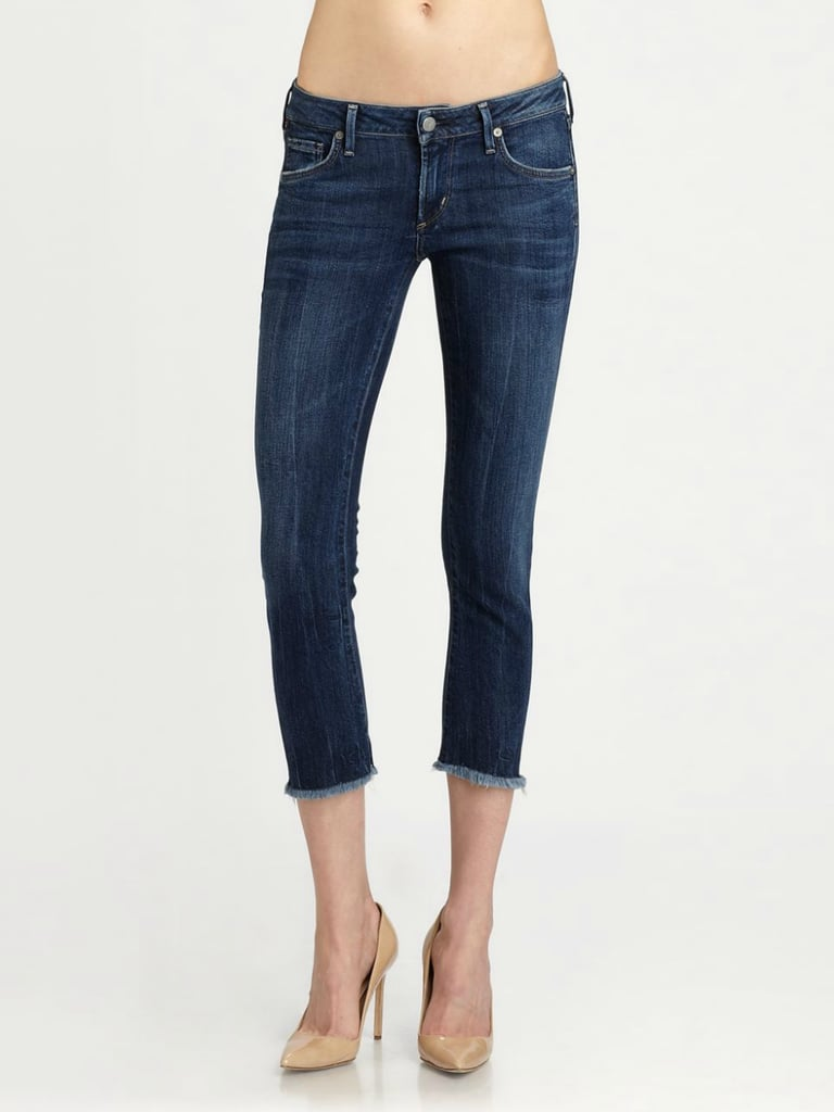 We love the effortless fray detailing on these Citizens of Humanity Avedon Jeans ($164, originally $218).