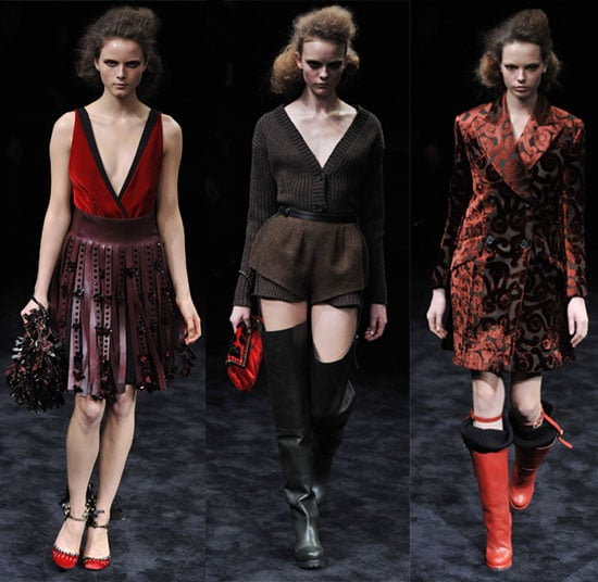 2009 Fall Milan Fashion Week: Prada