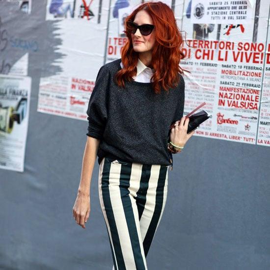 Best Striped Pants 2013