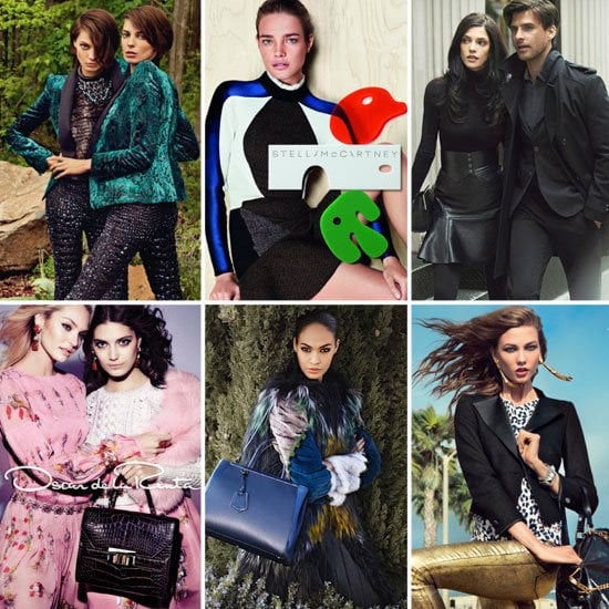 The newest batch of Fall 2012 ads right this way — we've got the latest from Fendi, DKNY, Roberto Cavalli, Stella McCartney, and more.