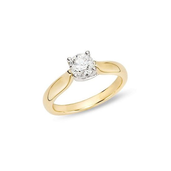3/4 carat diamond ring, approx $1,748, Ice