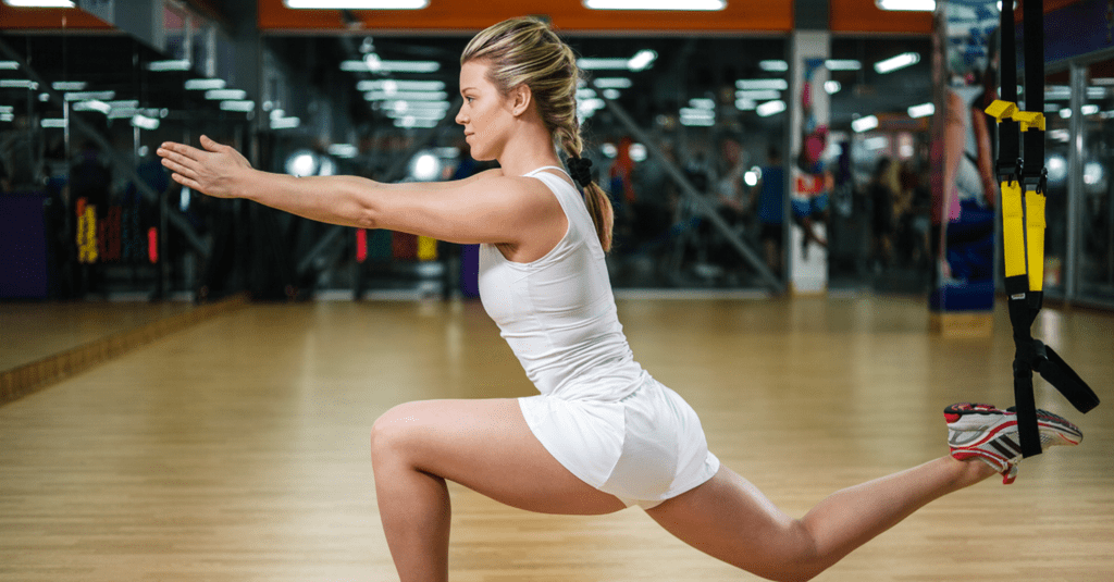 Here's an Indoor TRX Workout That Will Challenge Your Entire Body