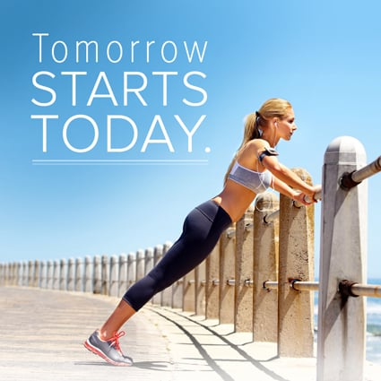 Tomorrow Starts Today Quote