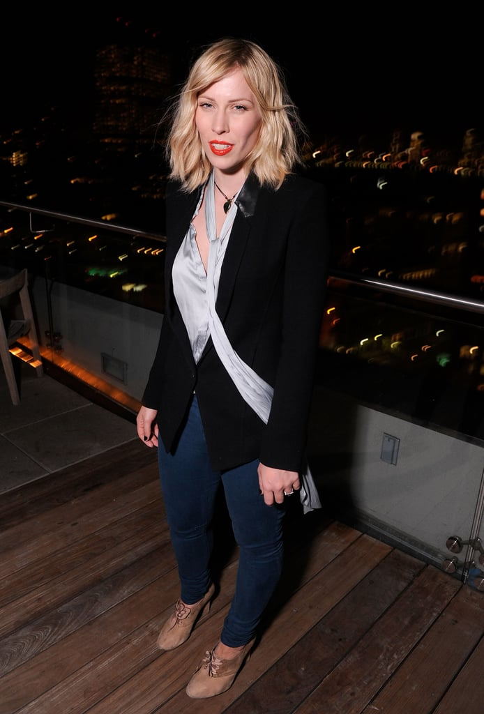 Natasha Bedingfield made an appearance at the Cinema Society and Men's Health screening of The Lucky One in NYC.