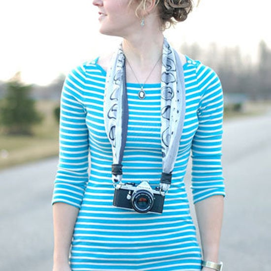 Photojojo Scarf Camera Strap DIY