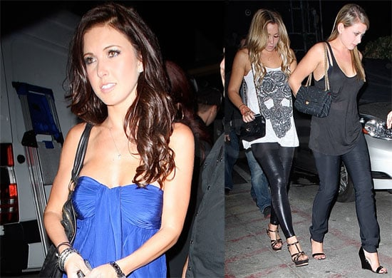 Photos of Lauren Conrad, Audrina Patridge, and Lo Bosworth at Winston's in Hollywood