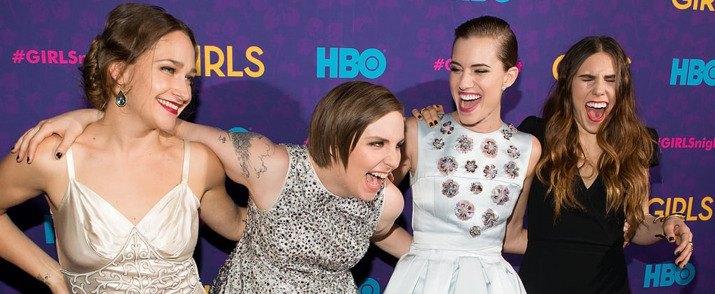 Watch the Girls Cast Laugh Their Way Through 4 Years of Premieres
