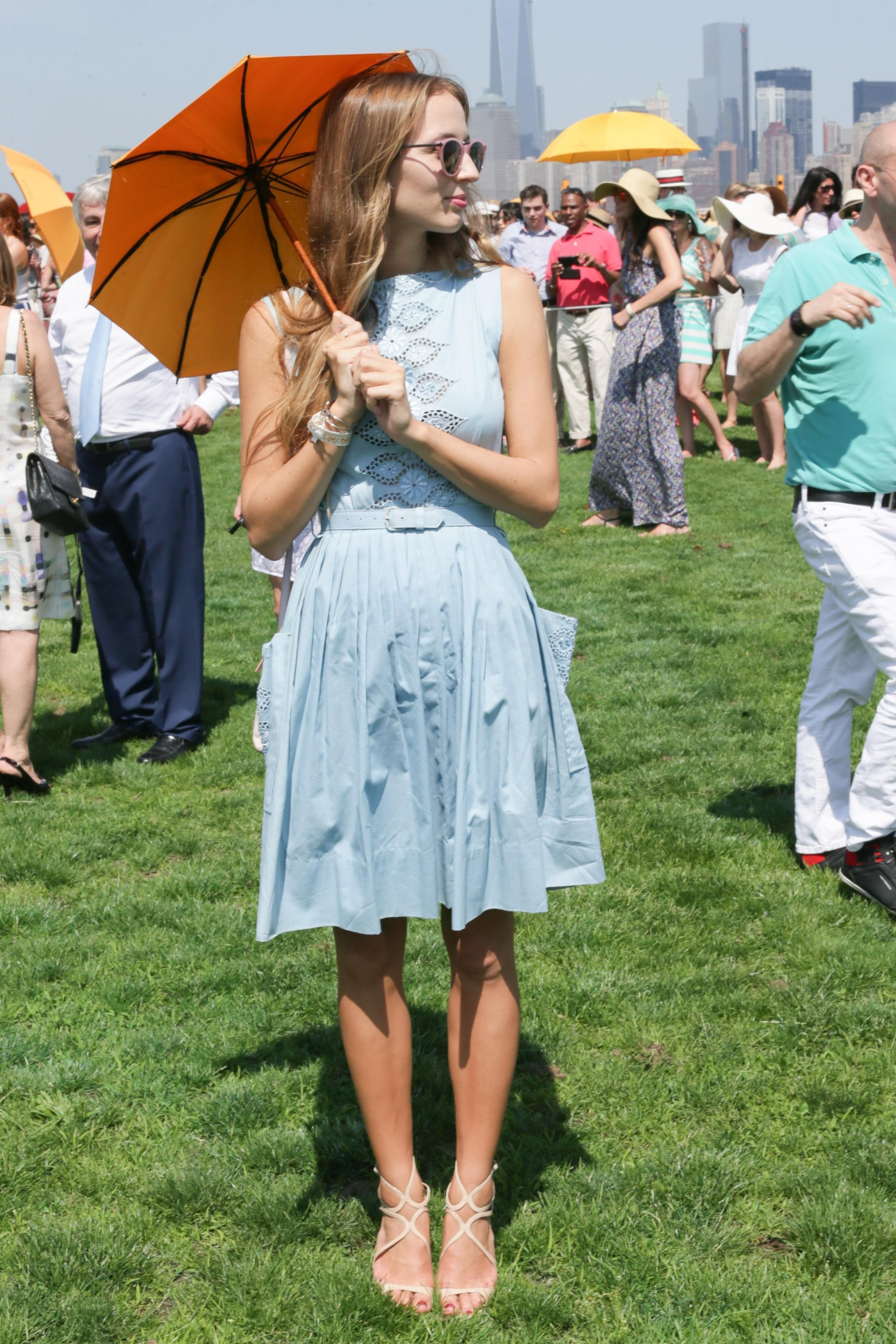 Harley Viera-Newton at the sixth annual Veuve Clicquot Polo Classic in Jersey City, NJ.  Source: David X Prutting/BFAnyc.com