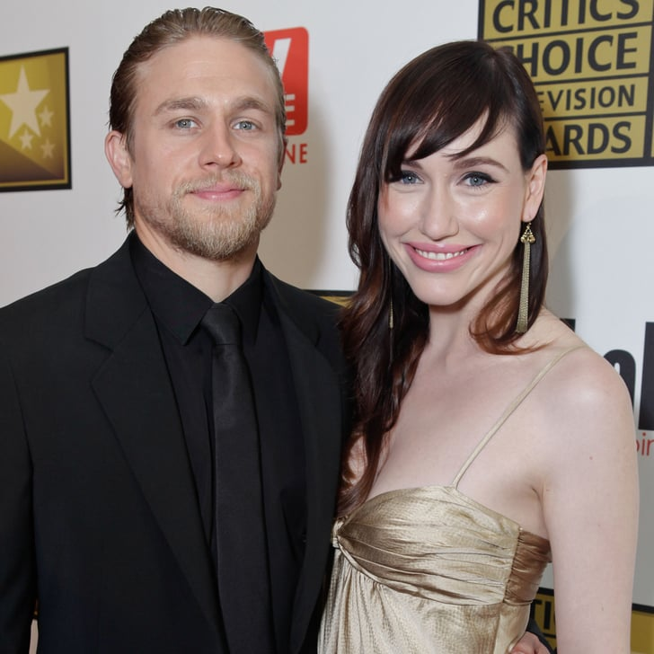 charlie hunnam and morgana mcneliss cutest pictures