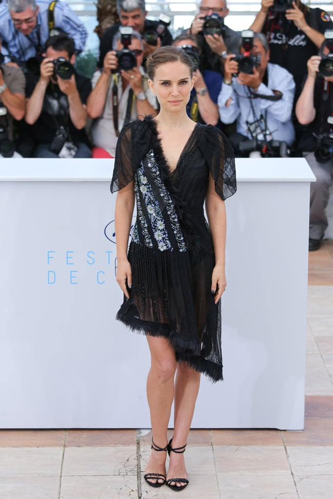 Natalie Portman in Rodarte at the Tale of Love and Darkness Photocall at Cannes 2015