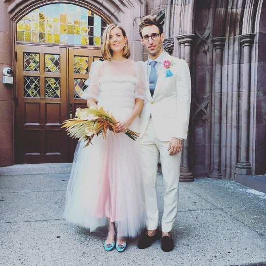 Agyness Deyn's Wedding Dress