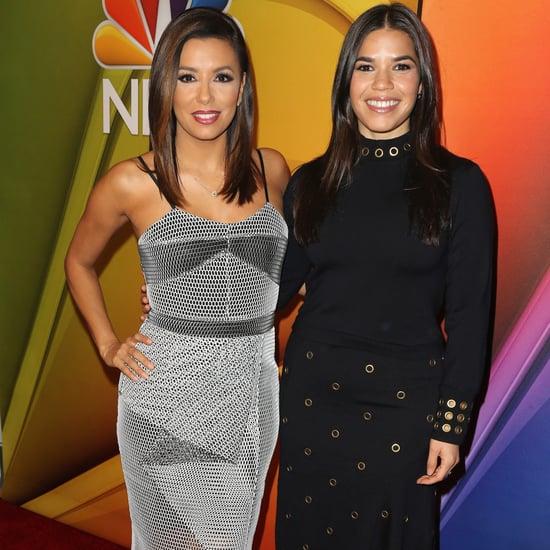 America Ferrera and Eva Longoria Promote Their New NBC Shows