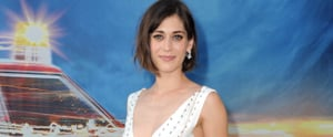 Lizzy Caplan Couldn't Have Picked a Better Dress to Match Her New Engagement Ring