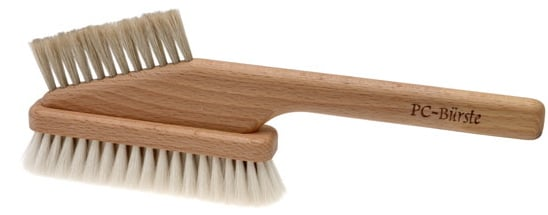 Rustic Computer Brush Gets to the Root of Your Grimy Gadgets