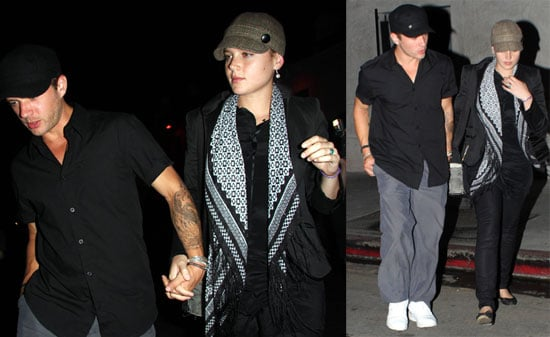 Photos of Ryan Phillippe and New Blonde Abbie Cornish