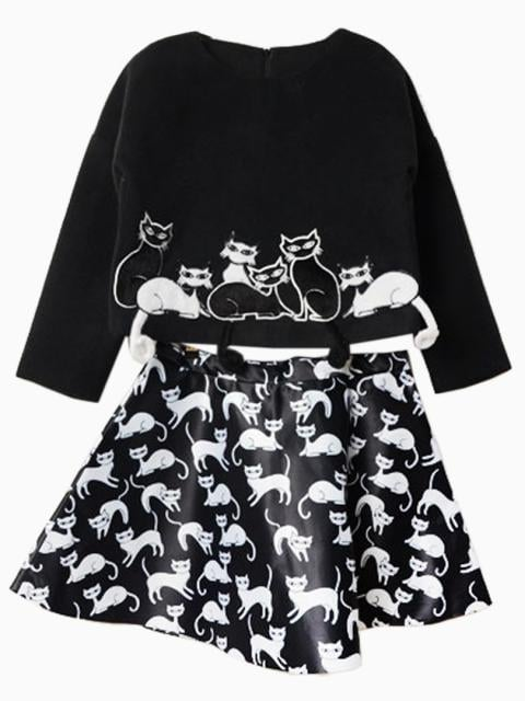 OK, this two-piece top and skirt set ($75) that comes with a teeny 3D tail is seriously cute.