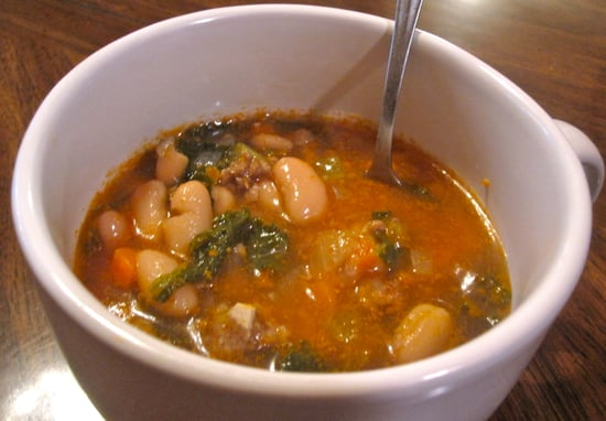 Sausage, Cannellini, and Kale Soup