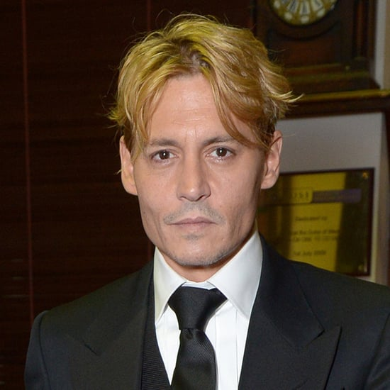 Johnny Depp With Blond Hair