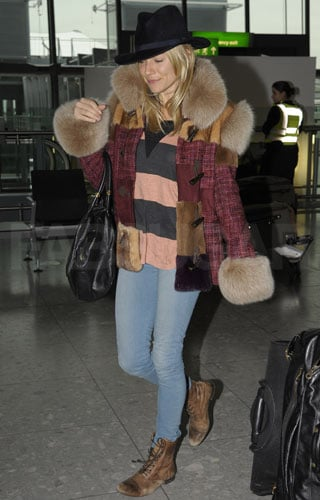 Pictures of Sienna Miller Style in London