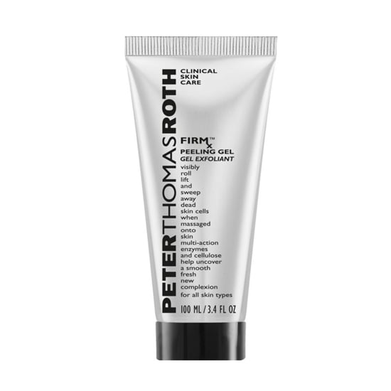 Making sure you have a great exfoliator in your arsenal is a beauty must, and this revolutionary formula works for all skin types. Peter Thomas Roth's FirmX Peeling Gel ($48) is formulated for dry, cleansed skin, and after I started massaging it all over my face, I immediately felt my dead skin cells being lifted away. Talk about results you can see. — Kaitlyn Dreyling