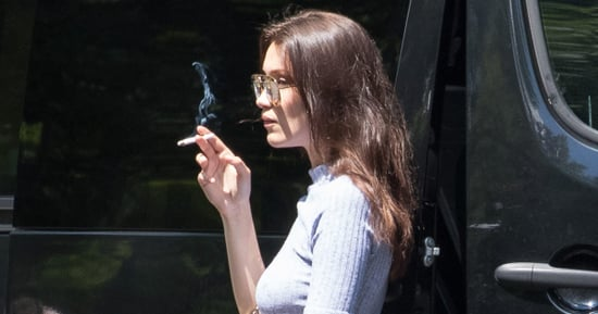 Bella Hadid Smokes a Cigarette, Ponders the Meaning of Existence