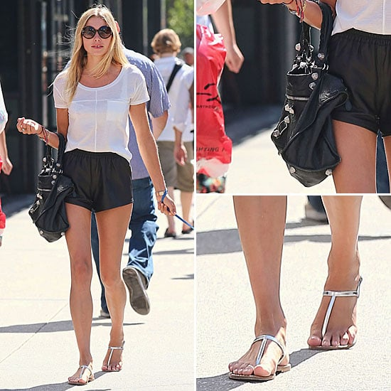 Jessica Hart Street Style | August 30, 2012