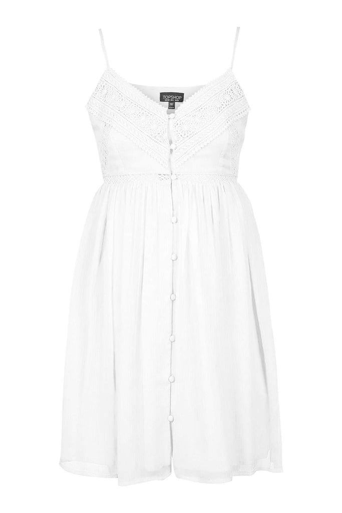 Topshop Button-Down Sundress ($68)