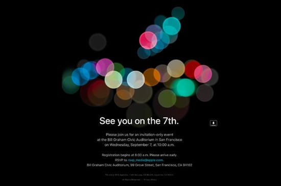 Apple To Unveil New iPhone On September 7
