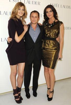 Estee Lauder Paris Launch Party For Tom Pecheux, Constance Jablonski, and Pure Color Night