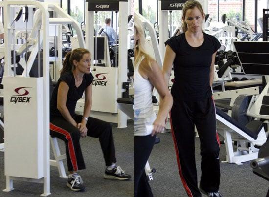 Take It From Jennifer Garner: Use the Weight Machines