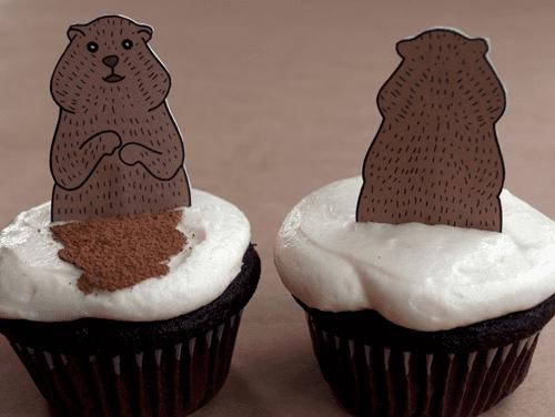 Shadow Seeker Cupcakes