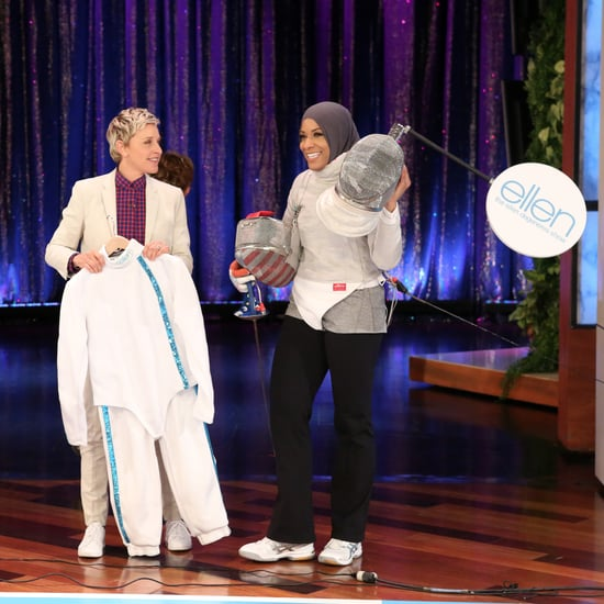 Ibtihaj Muhammad Fencing on The Ellen DeGeneres Show