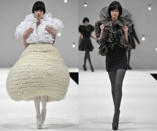 Photos of Manchester BA Fashion Graduate Show 2010