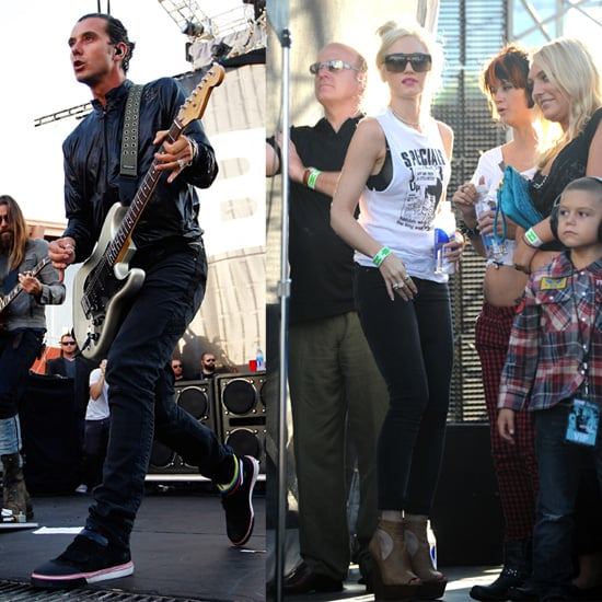 Gavin Rossdale and Bush at Sunset Strip Music Festival in LA