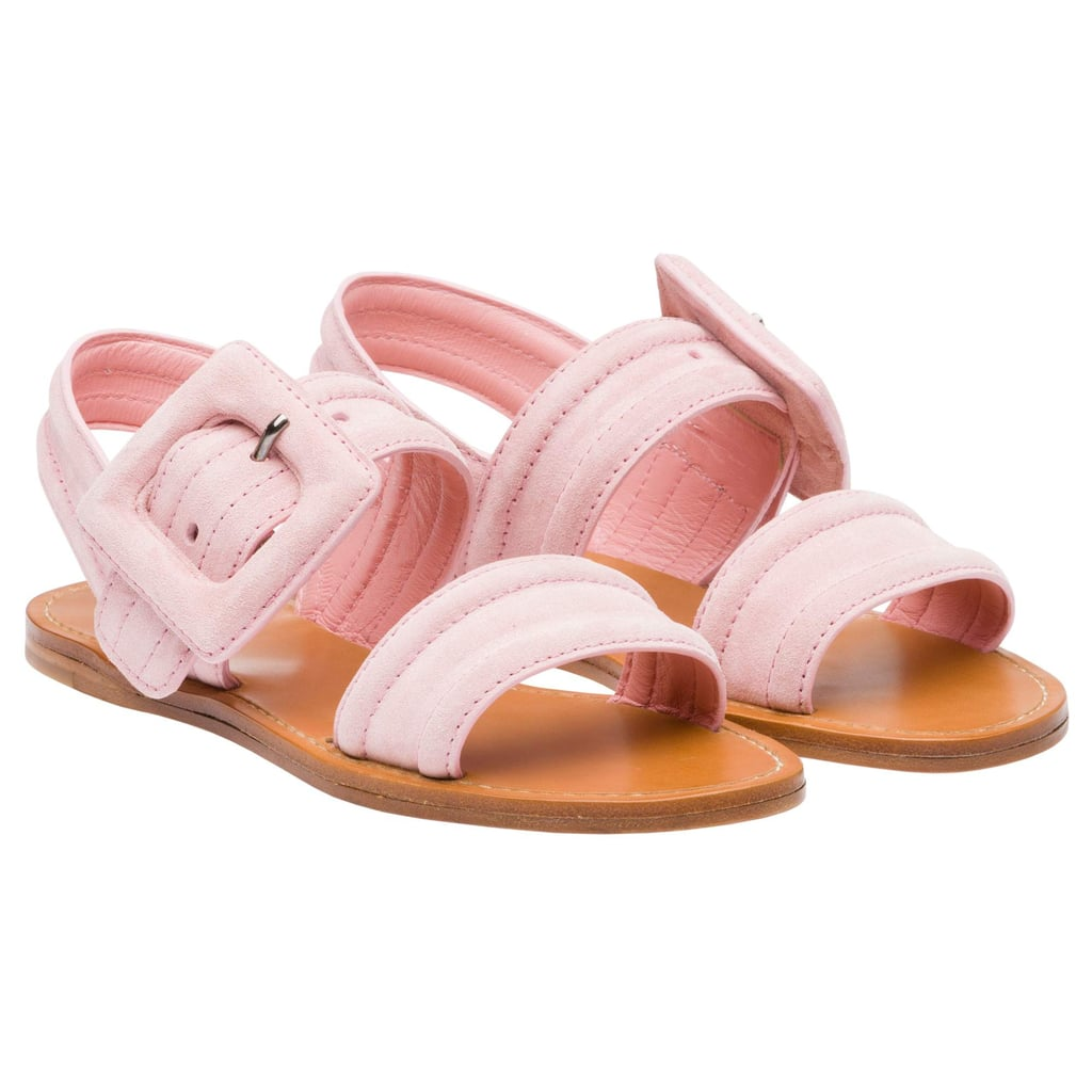 Miu Miu Suede Sandals ($590)