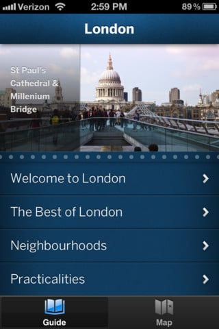 London Travel Guide — Lonely Planet ($6)