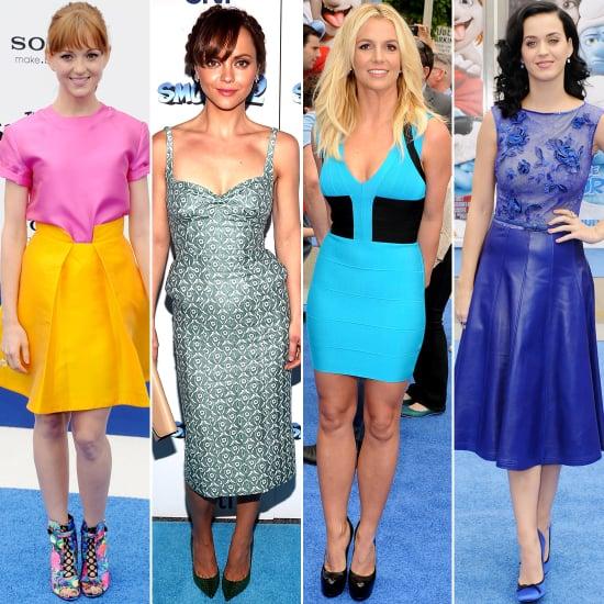 Smurfs 2 Premiere Red Carpet Dresses