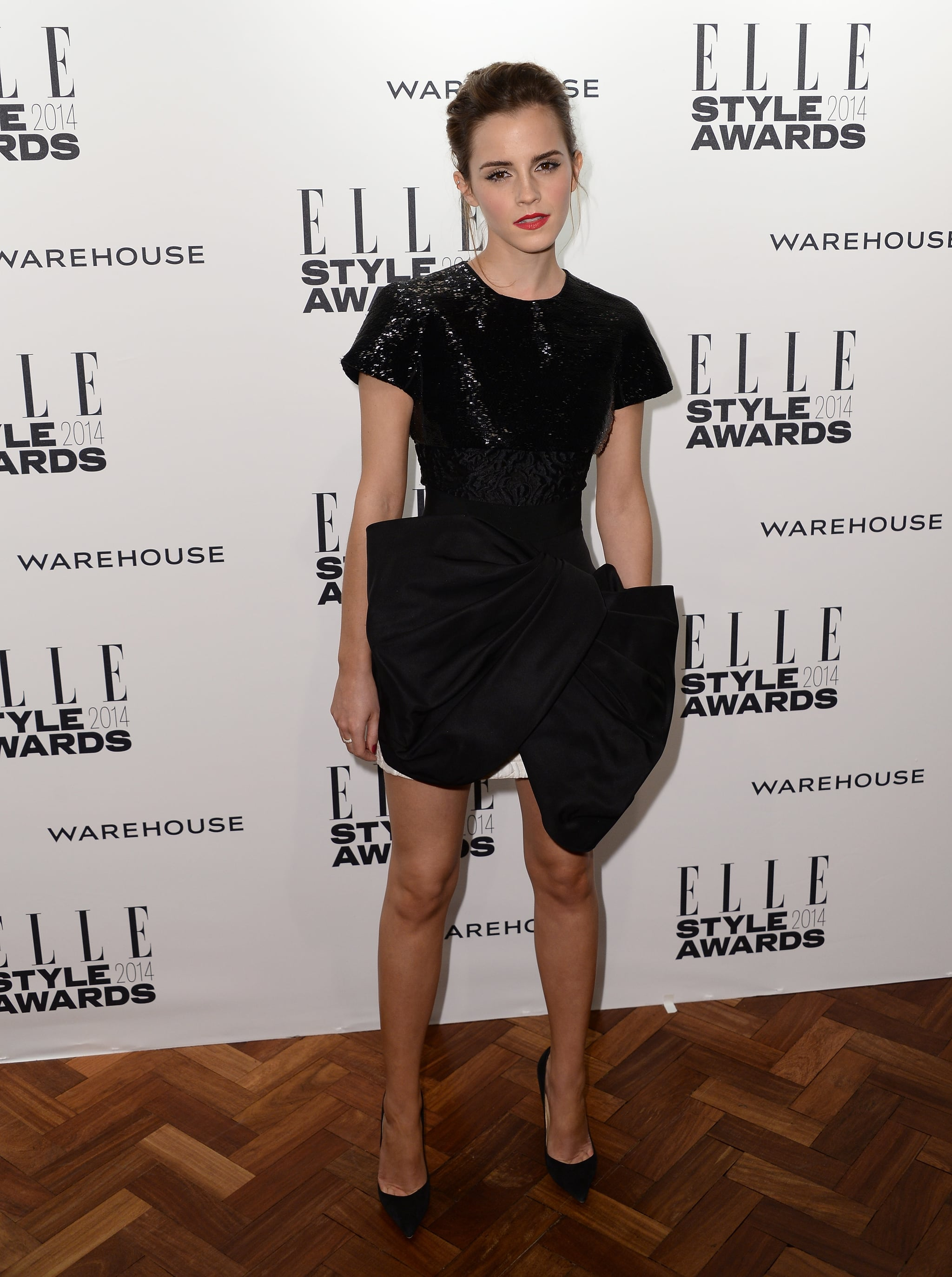Emma Watson stepped out for the Elle Style Awards in London on Tuesday ...