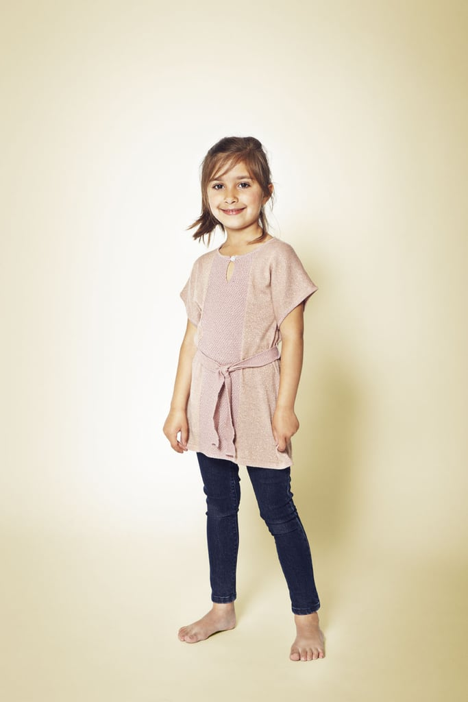 A tie-waist tunic and leggings are such a chic alternative to jeans for schoolday and weekend adventures alike.