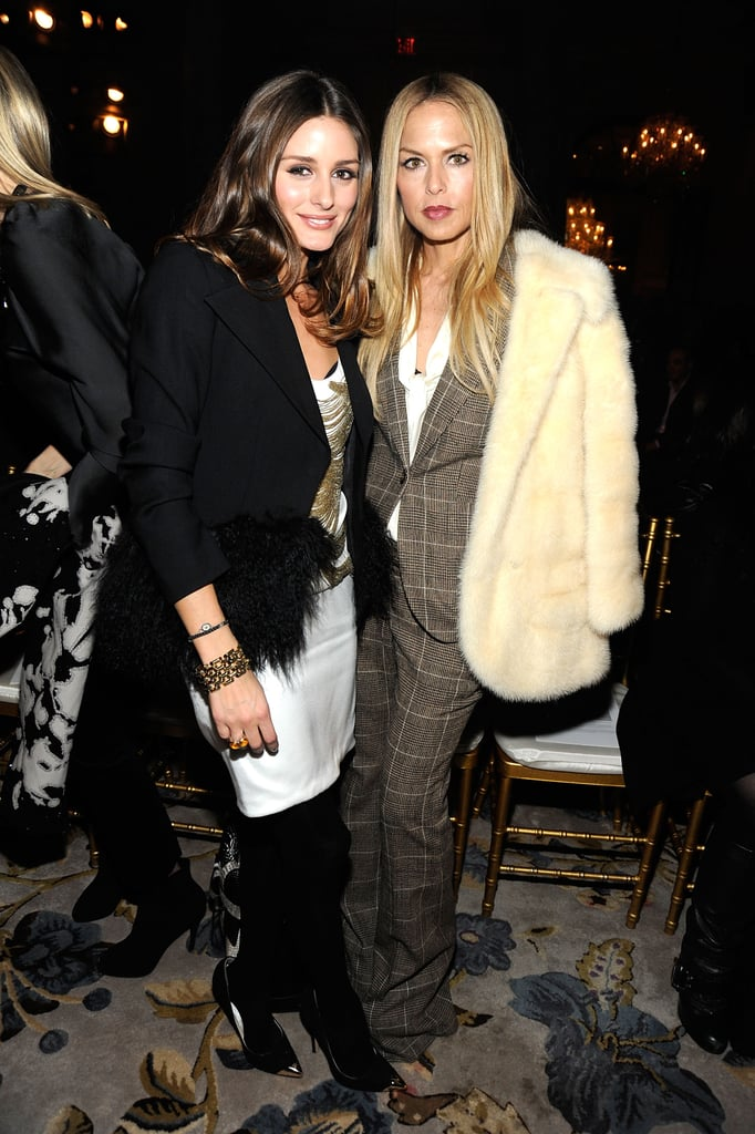 Olivia Palermo and Rachel Zoe smiled for a shot together.