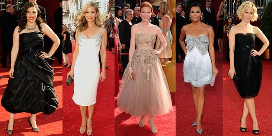 Which Shorter Hemline at the Emmy Awards Is Most Fab?