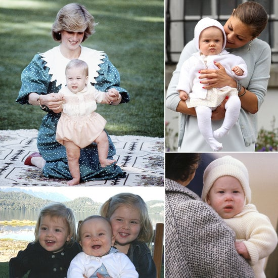 Of course, this isn't the first royal baby. Through the years, there have been lots of adorable little princes and princesses around the world, including Prince Harry, three sweet Dutch sisters, and Monaco's Prince Albert seen in mother Grace Kelly's arms.