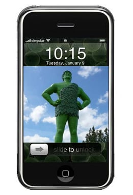 The Not So Green Apple iPhone