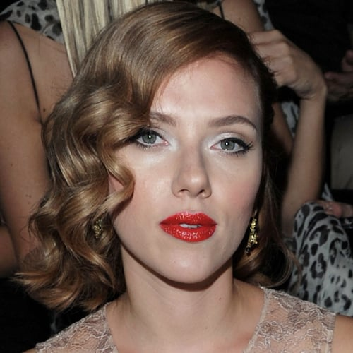 How to Get Scarlett Johansson's Red Lipstick
