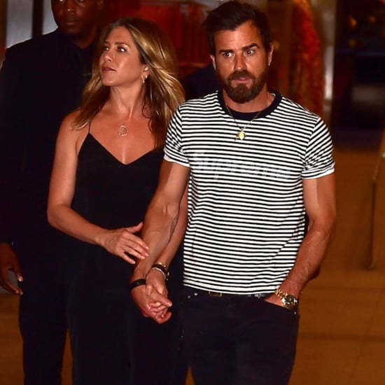 Justin Theroux and Jennifer Aniston in NYC June 2016