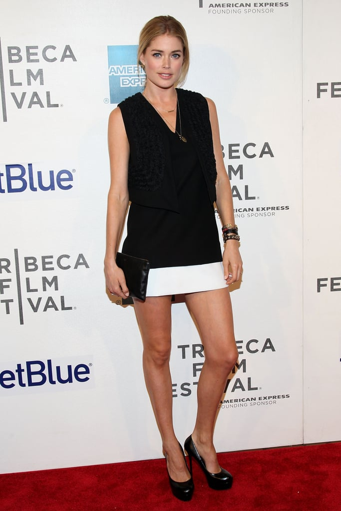 Doutzen Kroes at the 2012 Tribeca Film Festival in April 2012.