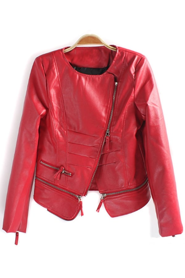 There's something distinctly Michael Jackson about this cherry red topper ($42) we're kind of digging.