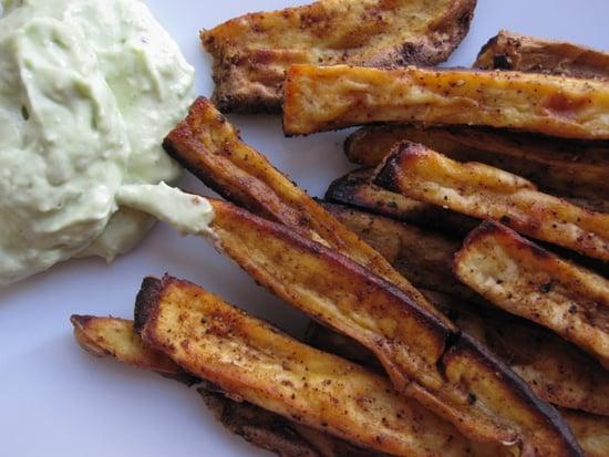 Sweet Potato Oven Fries With Avocado Dip Recipe