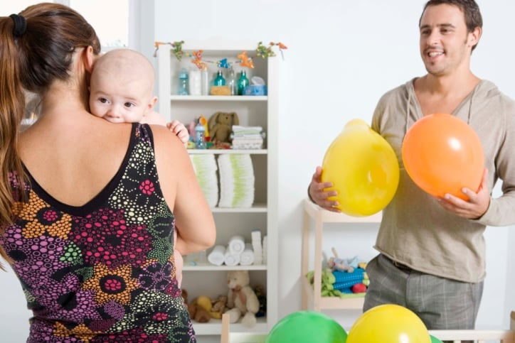 Spouse Intruding on Relationship With Baby